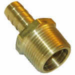 Larsen Supply 17-7701 1/8MPTx1/8 Barb Adapter