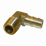 Larsen Supply 17-7911 3/8MPTx3/8 Barb Elbow