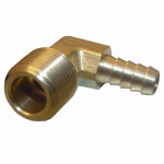 Larsen Supply 17-7913 1/2MPTx3/8 Barb Elbow
