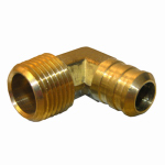 Larsen Supply 17-7917 1/2MPTx5/8 Barb Elbow