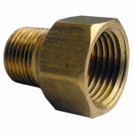 Larsen Supply 17-8547 1/2FIPx3/8MPT Coupling