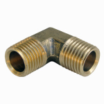 Larsen Supply 17-8811 1/4MIPx1/4MPT 90 Elbow