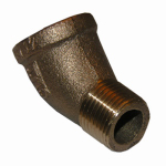 Larsen Supply 17-9015 1/4MIPx1/4FPT Str Elbow