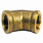 Larsen Supply 17-9043 3/8FIPx3/8FPT 45 Elbow