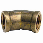 Larsen Supply 17-9045 1/4FIPx1/4FPT 45 Elbow