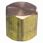 Larsen Supply 17-9143 1/8FPT Brass Cap