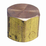 Larsen Supply 17-9145 1/4FPT Brass Cap