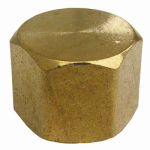 Larsen Supply 17-9147 3/8FPT Brass Cap