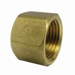 Larsen Supply 17-9149 1/2FPT Brass Cap