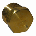 Larsen Supply 17-9165 1/4MPT Hex Head Plug