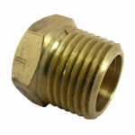 Larsen Supply 17-9169 1/2MPT Hex Head Plug
