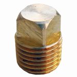 Larsen Supply 17-9175 1/4MPT Brass Square Plug
