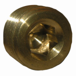 "Larsen Supply 17-9193 1/4"" Countersunk Plug"