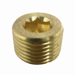 "Larsen Supply 17-9197 1/2"" Countersunk Plug"