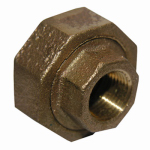 "Larsen Supply 17-9205 1/4""FemxFPT Brass Union"