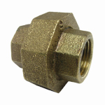"Larsen Supply 17-9209 1/2""FemxFPT Brass Union"