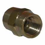 Larsen Supply 17-9223 Pipe Fitting, Coupling, Lead-Free Brass, 1/4-In. FPT
