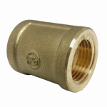 Larsen Supply 17-9227 Pipe Fitting, Coupling, Lead-Free Brass, 1/2-In. FPT