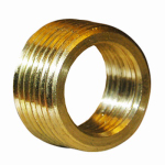 Larsen Supply 17-9233 1/2Mx3/8FPT Brass Bushing