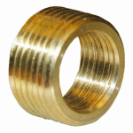 Larsen Supply 17-9235 3/4Mx1/2FPT Brass Bushing