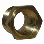 Larsen Supply 17-9251 Pipe Fitting, Reducing Hex Bushing, Lead-Free Brass, 1/2 Male x 3/8-In. FPT