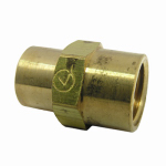Larsen Supply 17-9271 1/4Fx1/8FPT Hex Bushing