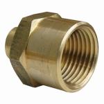 Larsen Supply 17-9281 1/2Fx3/8FPT Hex Bushing