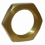 "Larsen Supply 17-9293 3/8""FPT Brass Lock Nut"