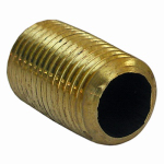 Larsen Supply 17-9351 1/4MPTx7/8C Brass Nipple