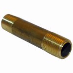 Larsen Supply 17-9359 1/4MPTx3L Brass Nipple