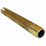 Larsen Supply 17-9363 1/4MPTx4L Brass Nipple