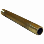 Larsen Supply 17-9371 1/4MPTx6L Brass Nipple