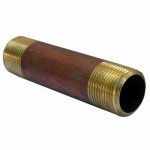 Larsen Supply 17-9493 3/4MPTx4L Brass Nipple