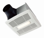 Broan-Nutone A80L Bath Fan & Light, Single Speed, 1.0 Sones, 80 CFM