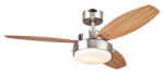 Westinghouse Fan & Lighting 72473 Ceiling Fan, Brushed Nickel, 42-In.