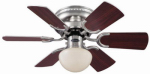 Westinghouse Fan & Lighting 78005 Ceiling Fan, Brushed Nickel, 30-In.