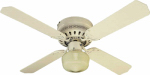 Westinghouse Fan & Lighting 78500 Ceiling Fan, White, 42-In.