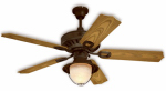 Westinghouse Fan & Lighting 78778 Ceiling Fan, Weathered Iron Finish, 52-In.