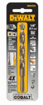 Dewalt Accessories DWA1209 Cobalt Split-Point Drill Bit, 9/64-In.