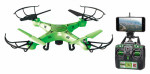 World Tech Toys 33767 Striker Drone, Live Feed Wi-Fi, Glows in the Dark