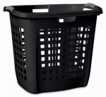 Sterilite 12259004 Ultra Easy Carry Hamper, Black, 19-7/8-In.