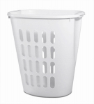 Sterilite 12568006 Open Laundry Hamper, White, 21-7/8-In.