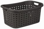 Sterilite 12756P06 Weave Laundry Basket, Espresso, 26-In.