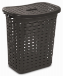 Sterilite 12766P04 Weave Laundry Hamper - Color: Espresso