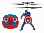 World Tech Toys 34871 Remote-Control Captain America IR Helicopter with Audio