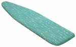 Honey Can Do Intl IBC-03039 Teal Iron Board Cover