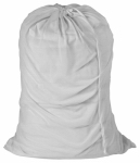 Honey Can Do Intl LBG-01142 Laundry Bag, White Mesh, 24 x 36-In.