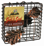 Heath Manufacturing 2304 Copper Leaf Suet Cage