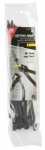 Gardner Bender 46-308UVBSC Cable Ties, Self-Cutting, Black, 8-In., 50-Pk.