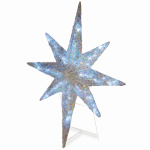 National Tree Co-Import DF-096001 LED Christmas Star Decoration, Crystal Acrylic, 42-In.